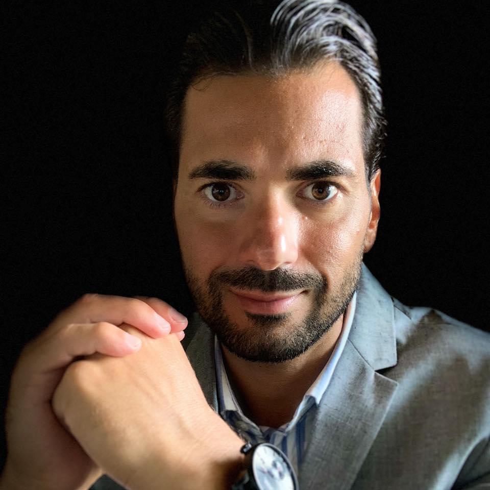 Cristian Marino elegant man jacket